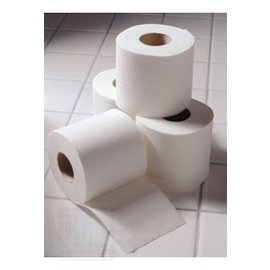 Tissue white. Silk soft
