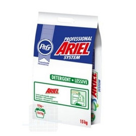 Ariel lessive 15kg par unité