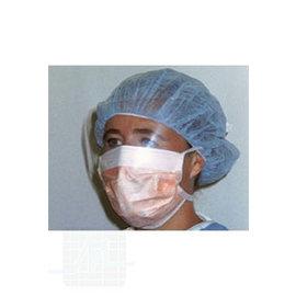 Protection bouche avec partie anti-éclaboussures 25 pièces
