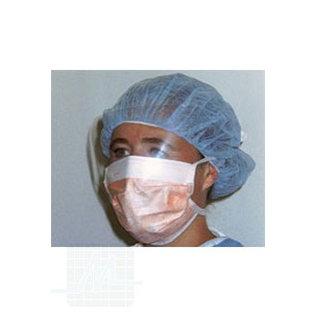 Maske mit Spritzschutzband