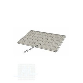 Tray with holes for SM200/SM300 stainless steel