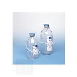 Vacuum bottle for transfusion
