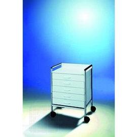 Charriot universel 83 cm. 5 tiroirs blancs par unité