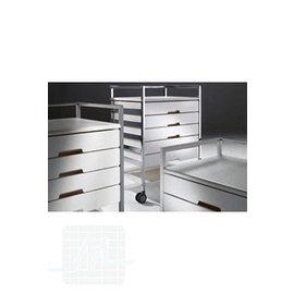 Charriot universel standard 4 tiroirs par unité