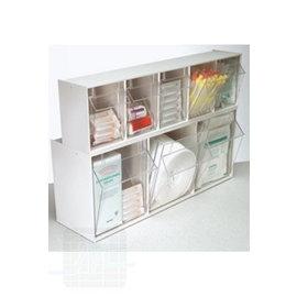 Distributeur jetables transparent Gris / blanc par unité