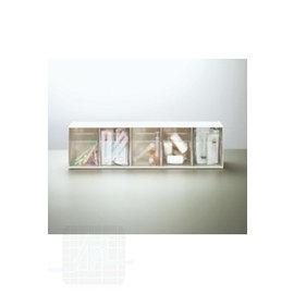 Distributeur à 3 compartiments gr./blancs par unité