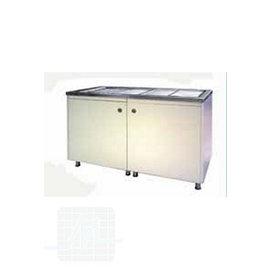 Lavabo INOX avec porte / tiroirs par unité