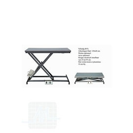 Scissor Table STAINLESS STEEL FLAT 120x60cm