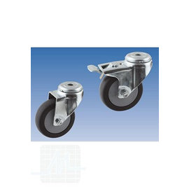 Roulettes pour lavabo modèle ciseaux 4 pièces