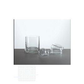 Glass Cylinder  + lid