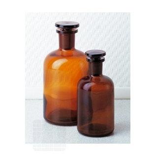 Braune Flasche + Stop