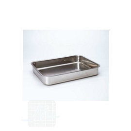 Instrum. and dressing tray stainless steel
