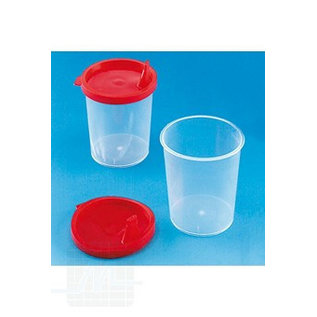 Urine cup 125ml. with optional cap