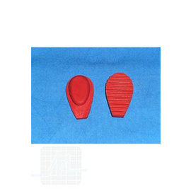Silicone tips  for uterine pliers