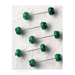 Mantelverschluss grün 7 cm