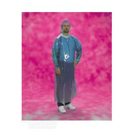 Obstetrician coat disp. Blue 156cm