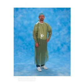 Obstetrician coat disp. 180cm green