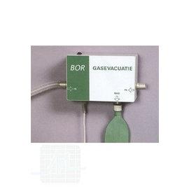 Système d'évacuation de gaz par unité