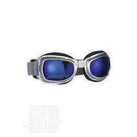 Lunettes chien Hot II, chrome, bleu S par unité