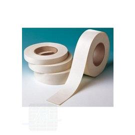 Ruban adhésif textile blanc 50mx50mm par rouleau