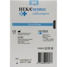 Compresse de gaze pommade 7,5 x 7,5 cm Heka Syntec par unité
