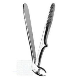Tooth root pliers straight curved