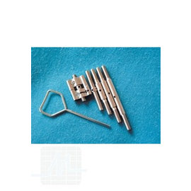 Retracting screws set with 5 spindle