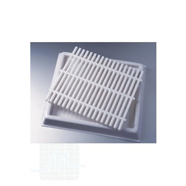 Grid for water drainage container