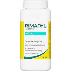 Rimadyl comprimé à croquer 100 mg 100 PIÈCES