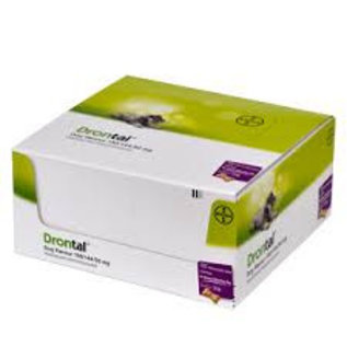 Drontal Dog Flavour 17x6 tablets