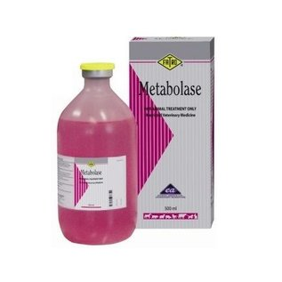 Metabolase injectable solution 500 ml