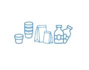 Jars, bottles, bags