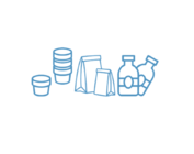 Pots, bouteilles, sacs