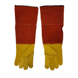 Protective gloves leather
