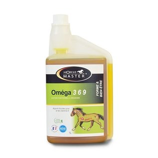 HorseMaster OMEGA 3,6,9, flüssige Ergänzung