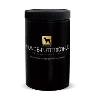 Stiefel feeding coal dog powder