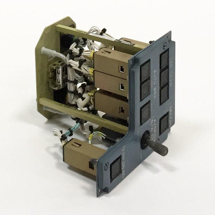 402VU LDG GEAR/BRK FAN PANEL