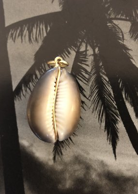 Grote cowrie hanger