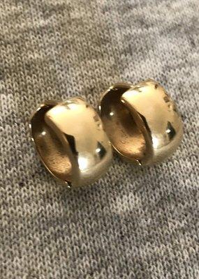 Gouden klapcreolen
