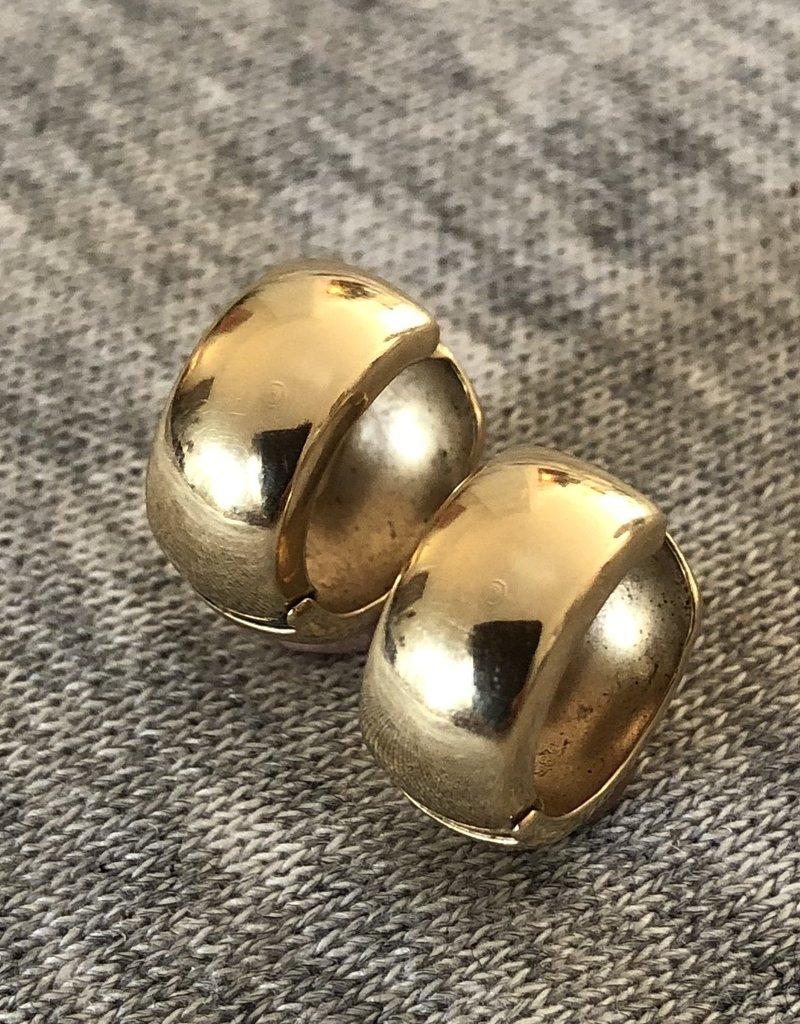 Gouden clapcreolen