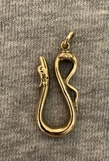 Chunky snake necklace connector