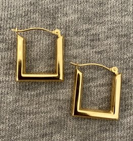 Busty Square hoops