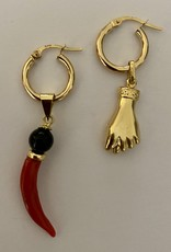 Protection amulet hoops