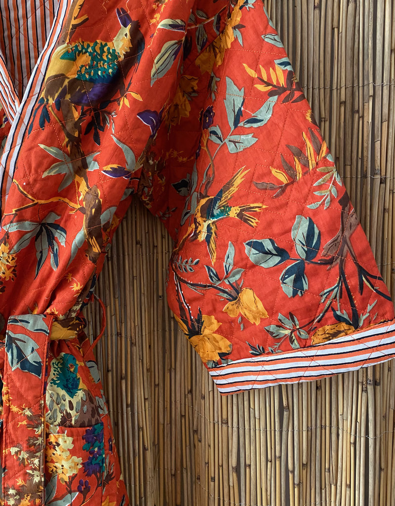 Bird of paradise padded bathrope