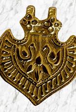 Peacock india amulet