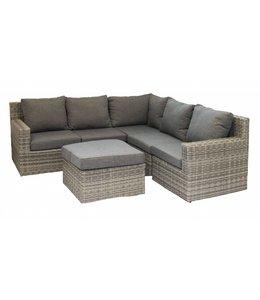 4 Jahreszeiten Gartenmöbel Sorrento Eck-Lounge-Set (AG) | Rattan