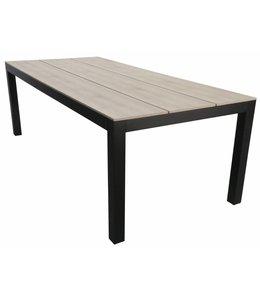 4 Jahreszeiten Gartenmöbel Gartentisch Limasol  180x100(Wood)
