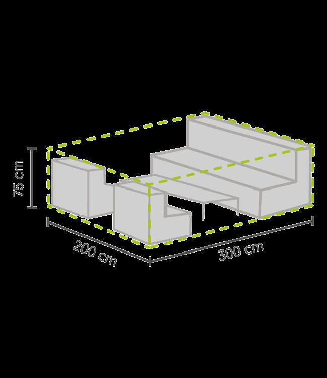 Outdoor Covers Lounge Set Schutzhülle L 300x200x75cm