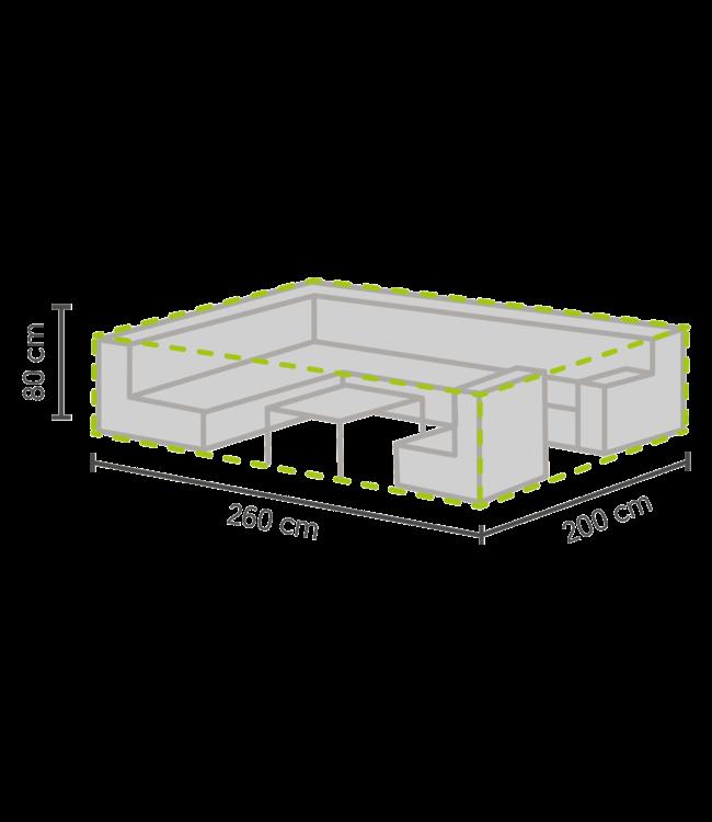 Outdoor Covers Lounge Set Schutzhülle 260x200x80cm