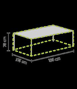 Outdoor Covers Tischschutzhülle 185x105x75cm